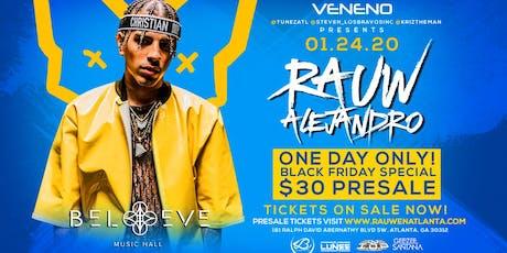 Rauw Alejandro Live in Atlanta  tickets