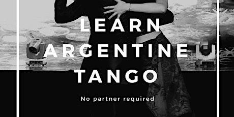 Beginners Tango Class tickets