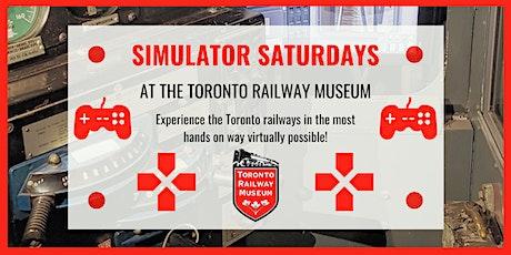 Simulator Saturdays tickets
