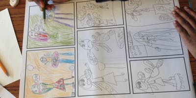 Children's comic book workshop | For 5-8 year olds