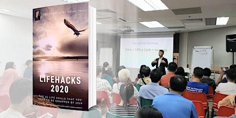 """LifeHacks 2020"" Book Launch  ||  预购:技能骇客2020 - 在2020年前,你必须拥有的56项技能 tickets"