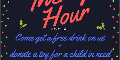 HUMRC x SNMA Presents: the Merry Hour Social