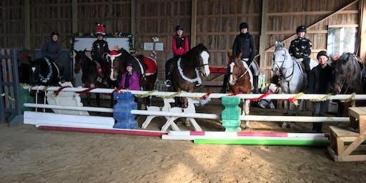 Myrddin Equestrian's Christmas Gymkhana!
