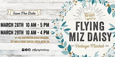 March Vintage Market by Flying Miz Daisy