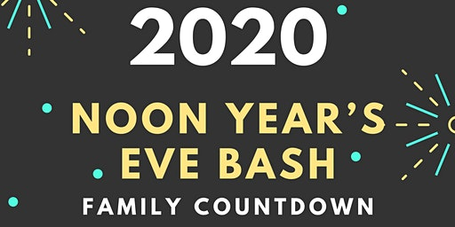 Noon Year's Eve Bash Family Countdown