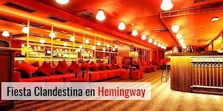 Fiesta Single en Hemingway entradas