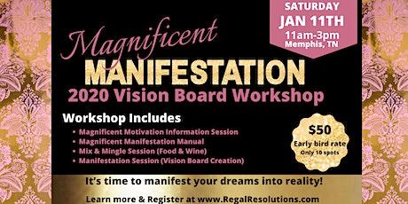 Magnificent Manifestation: 2020 Vision Board Workshop tickets