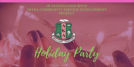 AKA Iota Epsilon Omega Chapter Holiday Party! tickets