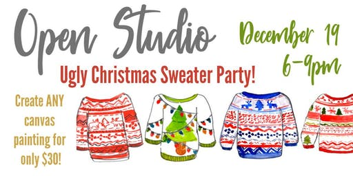 December Open Studio Paint Night!