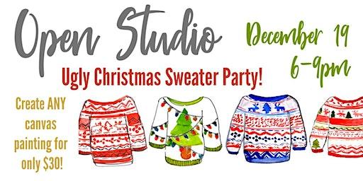 December Open Studio Paint Night!