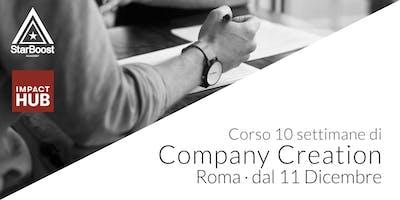 [Roma] Company Creation: trasforma la tua idea in un'azienda di successo