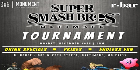 Super Smash Bros Ultimate Tournament tickets