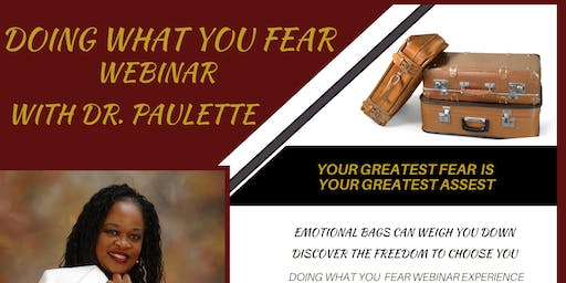Doing What You Fear Black Friday Sale!  (Your Greatest Fear is Your Greastest Asset)