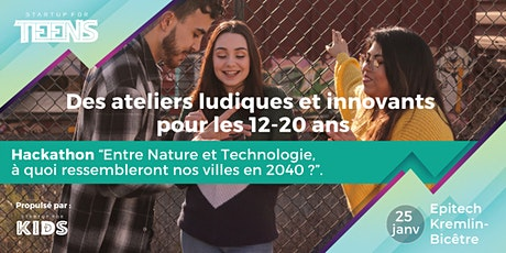 Hackathon Scolaire - Startup For Teens billets