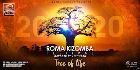 Roma Kizomba Festival (Tree of Life) - 2020, 7th Ed. - Official tickets