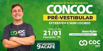 CONCURSO BOLSA DE ESTUDOS COC LAGES | CONCOC PRÉ-VESTIBULAR 2020