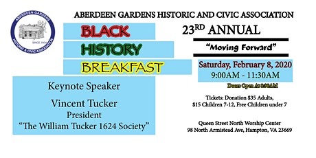 Aberdeen Gardens 23rd Annual Black History Breakfast tickets