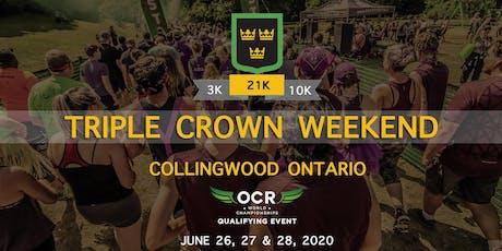 Mud Hero Ontario Triple Crown Weekend tickets