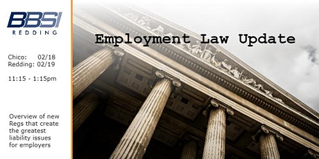 Employment Law Update in Redding tickets