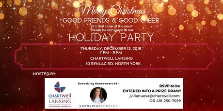 Christmas Party at Chartwell Retirement Residence, Lansing tickets