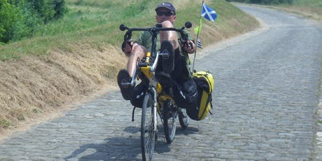 Boat Talk: Cycle the Earth's Circumference from Nethy to Grantown tickets
