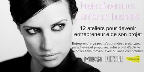 Les 12 sprints de l'entrepreneur.e tickets
