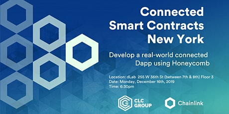 Connected Smart Contracts: NYC - Develop a real-world connected Dapp using Honeycomb tickets