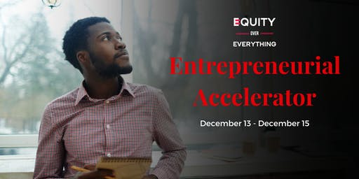 The Entrepreneurial Accelerator