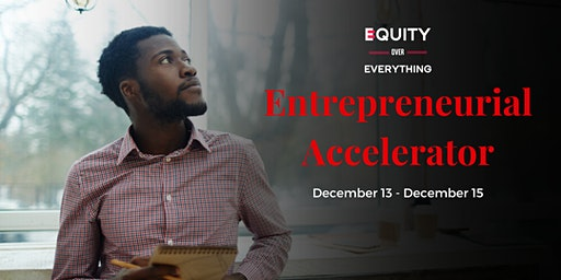 The Entrepreneurial Accelerator