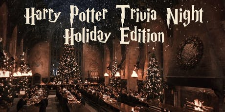 Harry Potter Trivia Night Holiday Fundraiser! tickets
