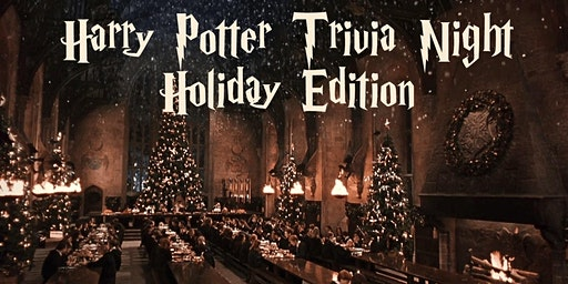 Harry Potter Trivia Night Holiday Fundraiser!