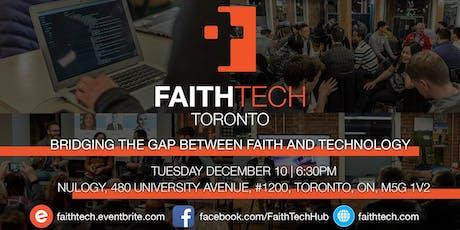 FaithTech Toronto December Meetup tickets