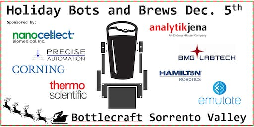 Holiday Bots and Brews: A Lab Automation Networking Event