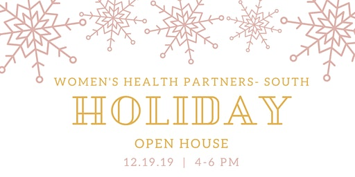 Women's Health Partners South Holiday Open House