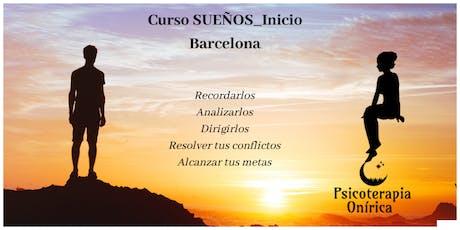 Curso Sueños_Iniciación_Barcelona entradas