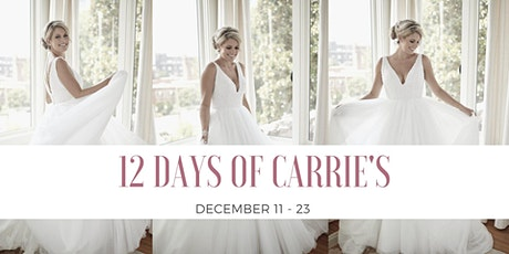 12 Days of Carrie's tickets