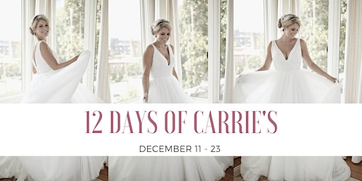 12 Days of Carrie's