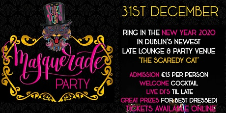 New Year's Eve Masquerade Party tickets