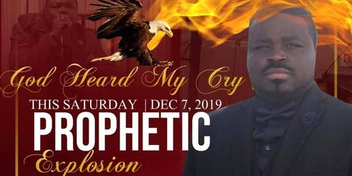 God Heard My Cry! With Prophet Anterral Taylor