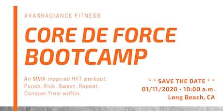 CORE DE FORCE Bootcamp 2020 - Long Beach tickets