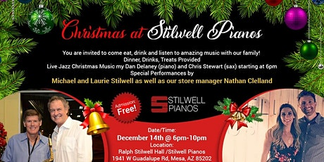 Stilwell Pianos Christmas Party! tickets