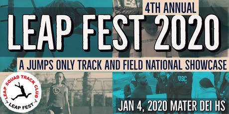 LEAP Fest 2020 - Jumps Only Track and Field National Showcase tickets