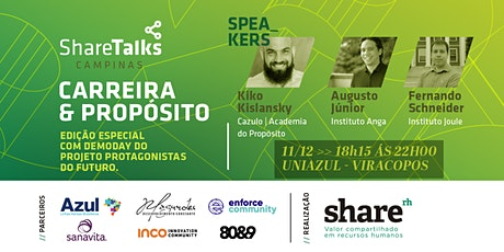 Share Talks - Carreira & Propósito ingressos