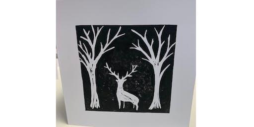 Lino Cut & Print Christmas - Chester