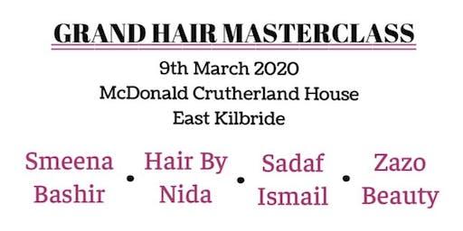 Grand Hair Master Class Smeena Bashir, Hair by Nida, Sadaf Ismail, Zazo Beauty