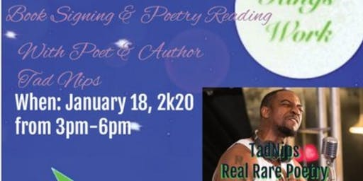 Real Rare Book Signing & Poetry