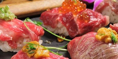 OsakaNetwork NY大阪の会 和牛寿司の店オープニング・レセプションと忘年会 tickets