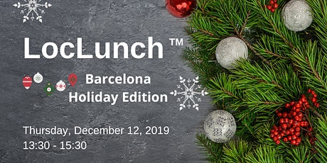 LocLunch Barcelona Holiday Edition tickets