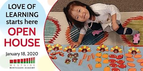 Westside Montessori Academy Casa dei Bambini Open House for 2020-2021 tickets