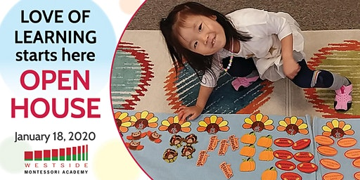 Westside Montessori Academy Casa dei Bambini Open House for 2020-2021